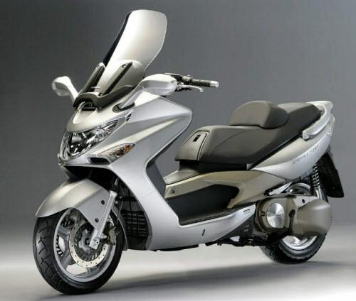 Test: Kymco Xciting 500i motorscooter - 2009