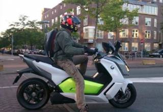 Test-2014-BMW-C evolution-elektrische-motorscooter