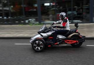 Test 2015 Can Am Spyder F3 Nederland 1