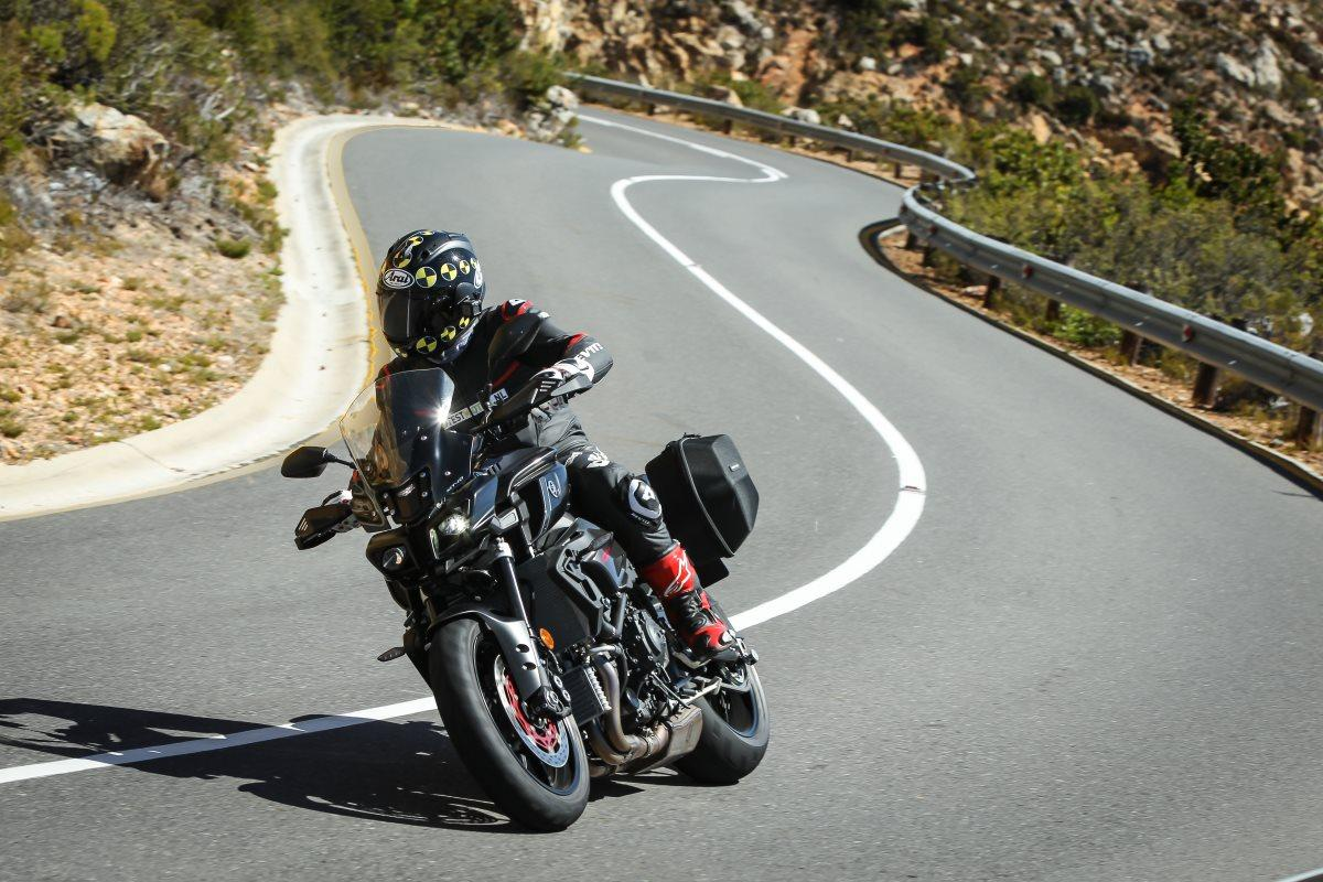 Reistest 2017 Yamaha MT-10 Tourer Edition