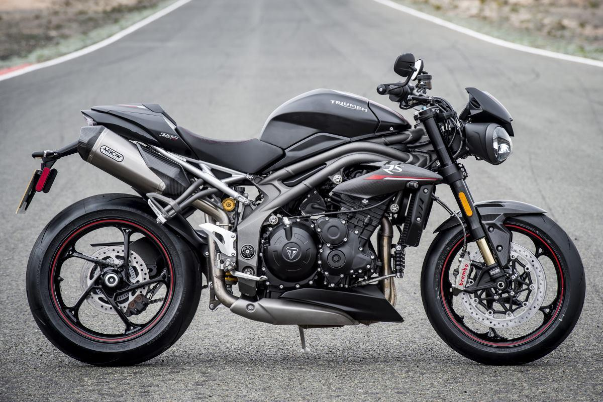 Test 2018 Triumph Speed Triple Rs De Nieuwste Motortesten